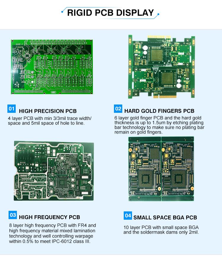 High TG Rigid PCB