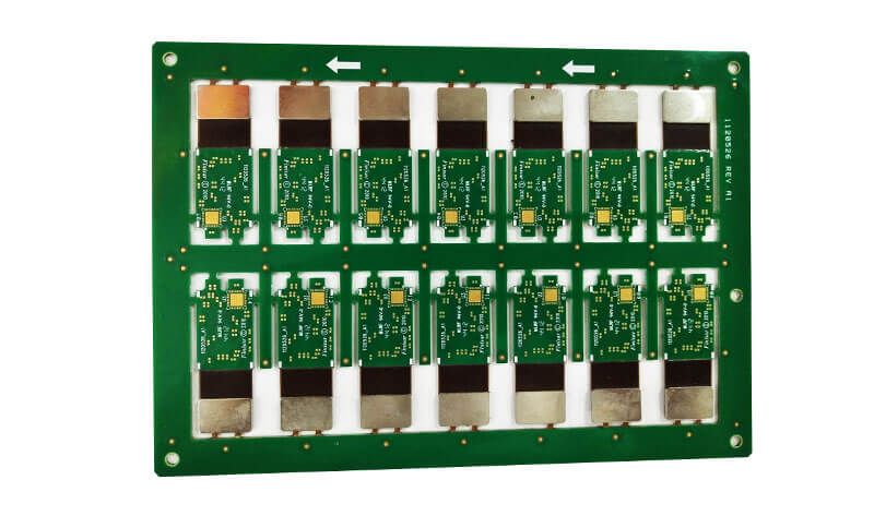 Metal Stiffener Rigid-Flex PCB