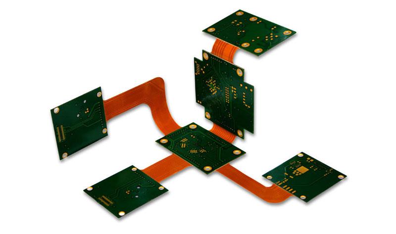 Multilayer Rigid-Flex PCB