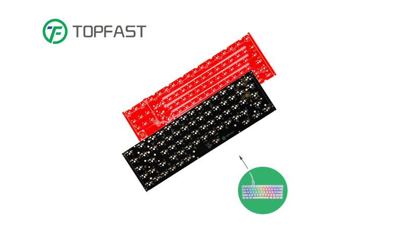 rgb mechanical keyboard pcb